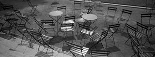 Chairs in Bryant Park by Yuriy Krupa