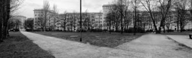 Behind the Karl Marx Allee by Abigail Gossage