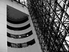JFK Library 1 by Bert Ihlenfeld