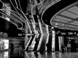 O'Hare Concourse 1 by Bert Ihlenfeld