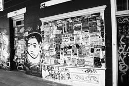 Doorway Bulletin Board by Frank Brueske
