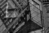 Fire Escape by Leonard Volk