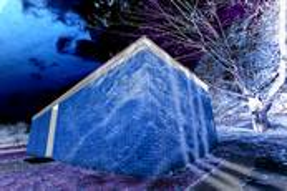 Glass House Brick House 2c by Alan Berkson