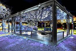 Glass House Corner 5b by Alan Berkson
