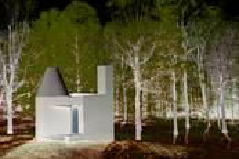 Glass House The Study 3d by Alan Berkson