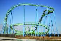 Abandoned Roller Coaster by Samantha vanDeman