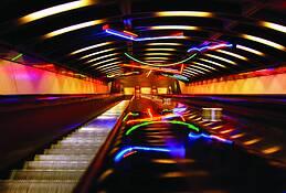 Escalator 2 by Richard Stultz
