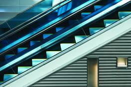 Escalator 3 by Richard Stultz