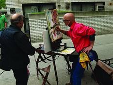Street Painter 1 by Patrick Binns