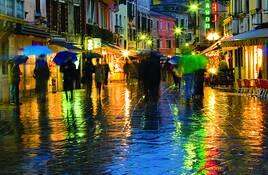 Evening Rain by Charlene Sollen Kenna