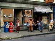 Street Scene by Geoffrey Gaynor
