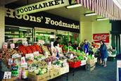 Food Market by Les Cleveland