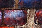 Textured By Time - If Walls Could Talk #1 by Sue Henry