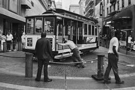 San Fran Trolley by Ron Hugo