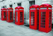 Bow Street Phone Boxes by Brian Anderson