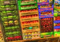 Rialto Produce Market by Dave E. Dondero