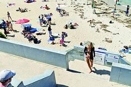 Sun Bathers 2 by Alex Hoffmaister