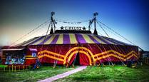Cirkusz Tent by Clark Gray