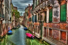 Rio della Tetta by Dave E. Dondero