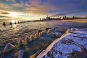 Chicago on Ice by Terry Bowker