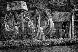 Floating Island Girl by Glenn Larsen
