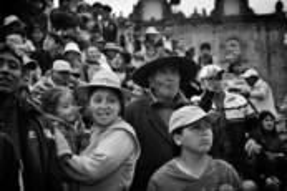 Winter Solstice Parade Crowd by Glenn Larsen
