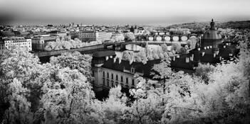 Prague Pano by Kulvinder Singh