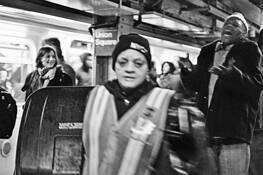 Subway Worker by David Lykes Keenan