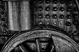 Locomotive Detail by Robert Steffen