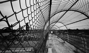 Pedestrian Bridge (Destroyed) 1 by Steve Reeves
