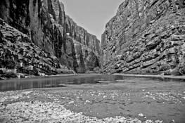 Santa Elena Canyon by David W. Cook