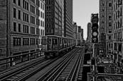 The Loop - Chicago L Train by Scott Clarke