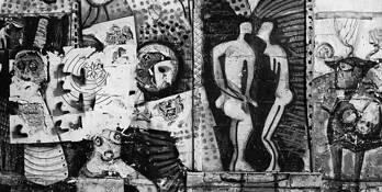 Paris Wall of Graffiti by Scott Hoyle