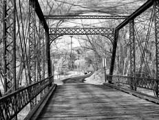 Metal Bridge by Jay R. Powell