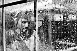 Rainy Window by Daivid Lykes Keenan