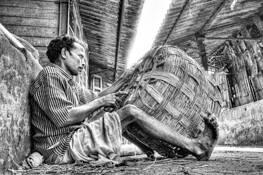 Basket Weaver by Shivcharan Kamaraju