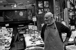 12 - Fishmonger by Stan Raucher