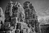 Bayon Faces by R. Scott Taylor