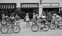 Bicycle Race by Michael Gora