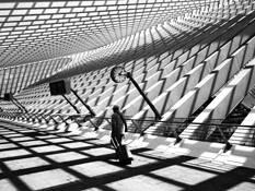 Calatrava train station by Thomas Lambert