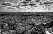 Over Paris II by Shivcharan Kamaraju