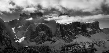 The Dolomites -Sas de Mesdi by Krzysztyof Strzoda