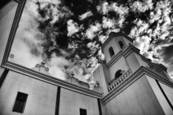 San Xavier del Bac Mission San Xavier Indian Reservation AZ 2011 by Dennis R. Ford
