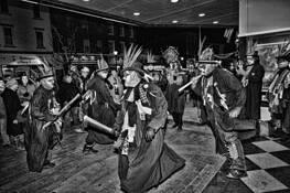 Morris Dancers 4 by Rick Menapace
