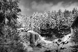 Frozen Falls by Bob Stewart