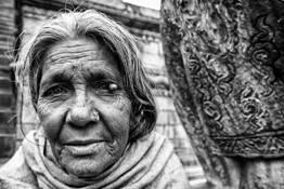 Old Lady by Karim Abiali