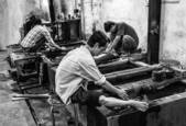 Lacquer Workers by Lee Grossman