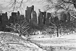 Central Park South by Weaver C Barksdale