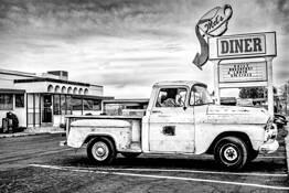 Mel's Diner by Jim Haas