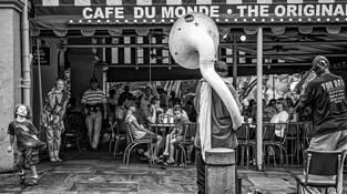 Cafe Du Monde by Tyler Vance